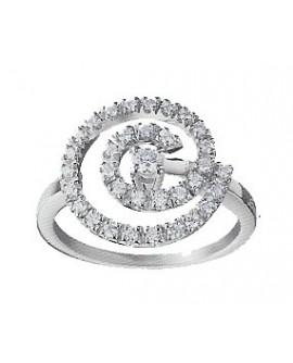 Anello donna Salvini Composit oro bianco e diamanti misura 15 - SALDI