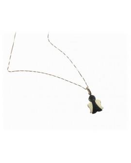 Collana donna con pendente angioletto oro giallo - Facco gioielli