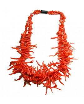 Collana donna corallo rosso - Aucella Torre del Greco