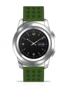 Orologio uomo Hybrid Watch Smartwatch Techwatch Techmade Green
