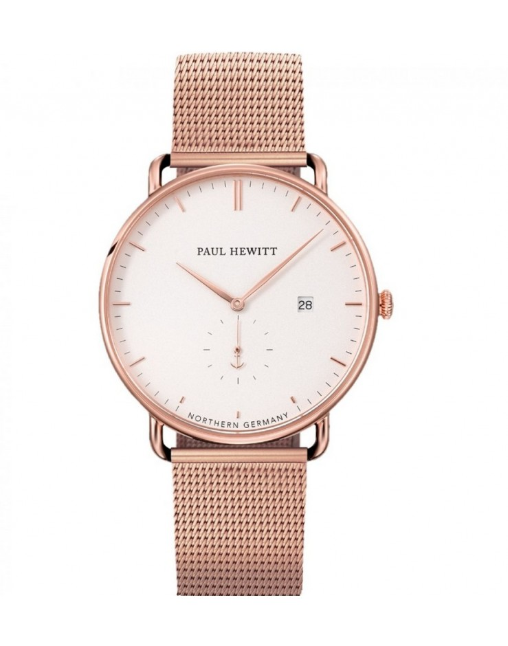 Orologio unisex solo tempo Paul Hewitt Grand Atlantic rose gold