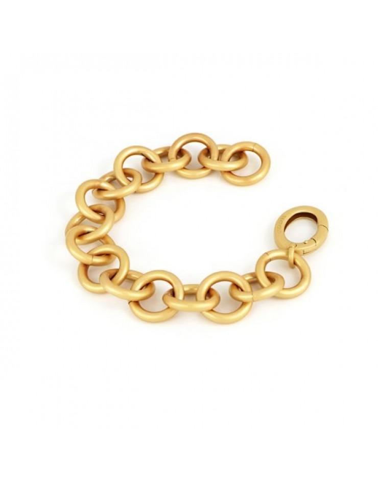 Bracciale donna bronzo gold satinato - UnoAErre