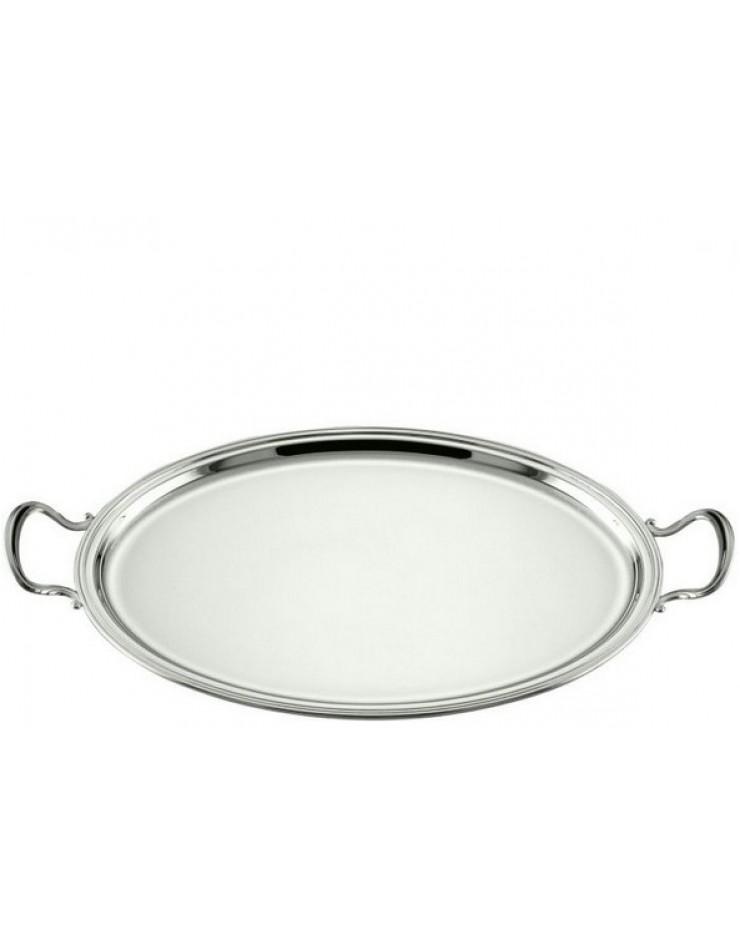 Vassoio ovale Argento 800 cm. 45x34 Inglese - Schiavon