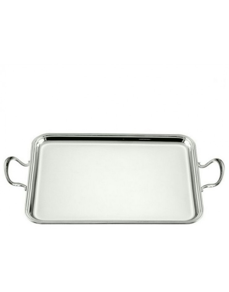 Vassoio rettangolare Argento 800 cm. 25x19 Inglese - Schiavon