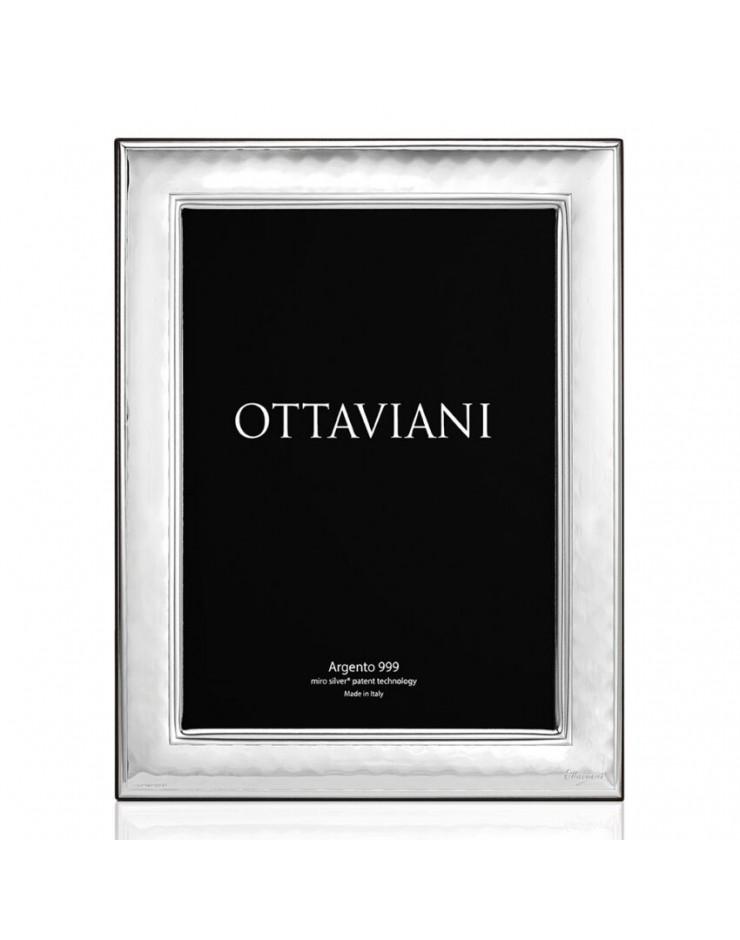 Portafoto cornice 18x24 Pepita Miro Silver Ottaviani
