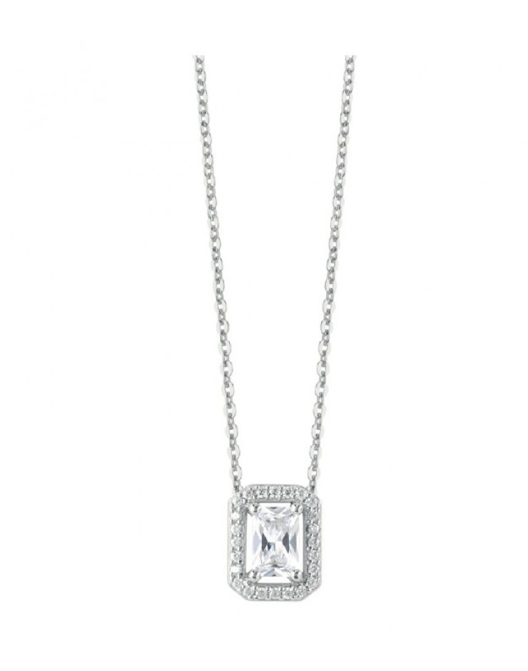 Collana argento Bliss Royale cubic zirconia