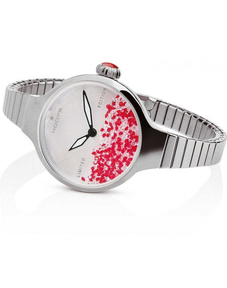Orologio donna solo tempo Hoops Nuouveau Chèrie Rolling Stones Elastic Limited Edition Natale