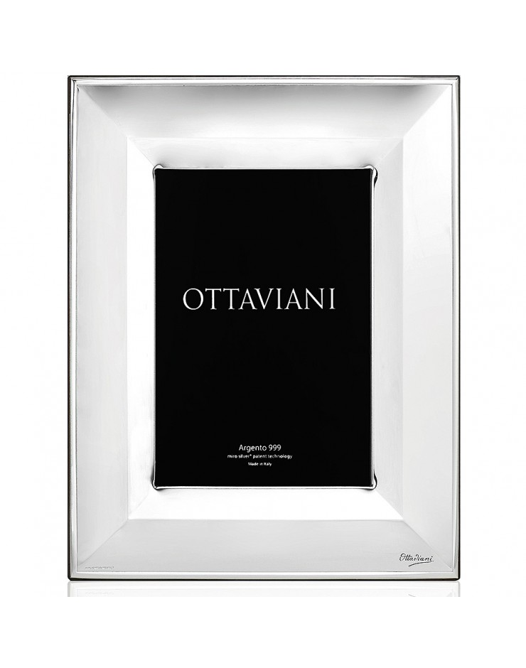 Portafoto cornice 18x24 New York Miro Silver Ottaviani
