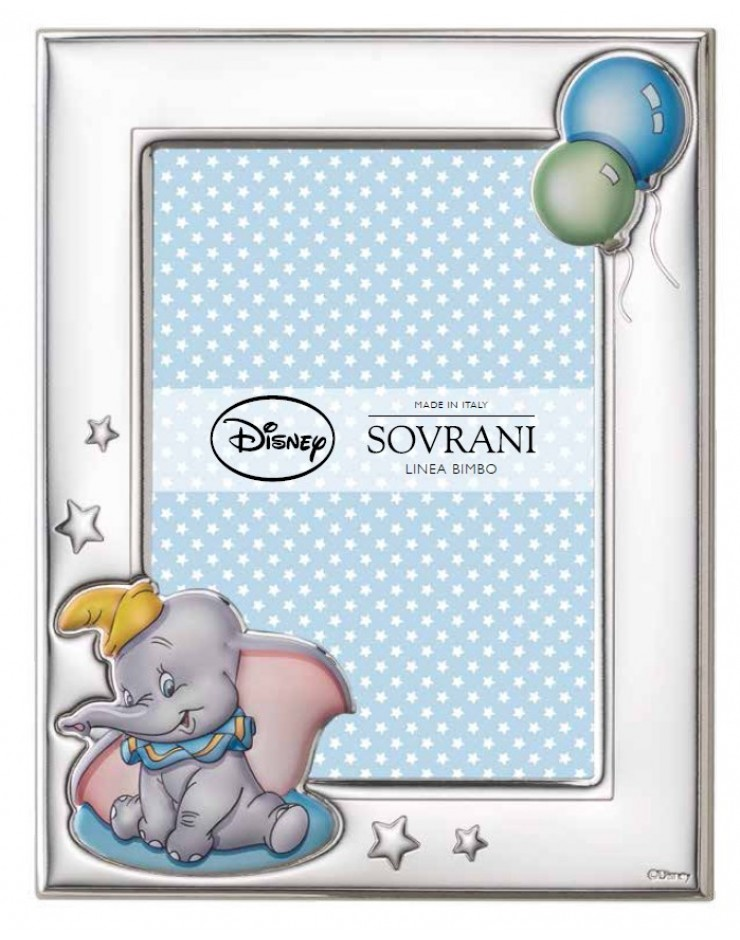 Portafoto Sovrani Disney Dumbo 9x13 Celeste