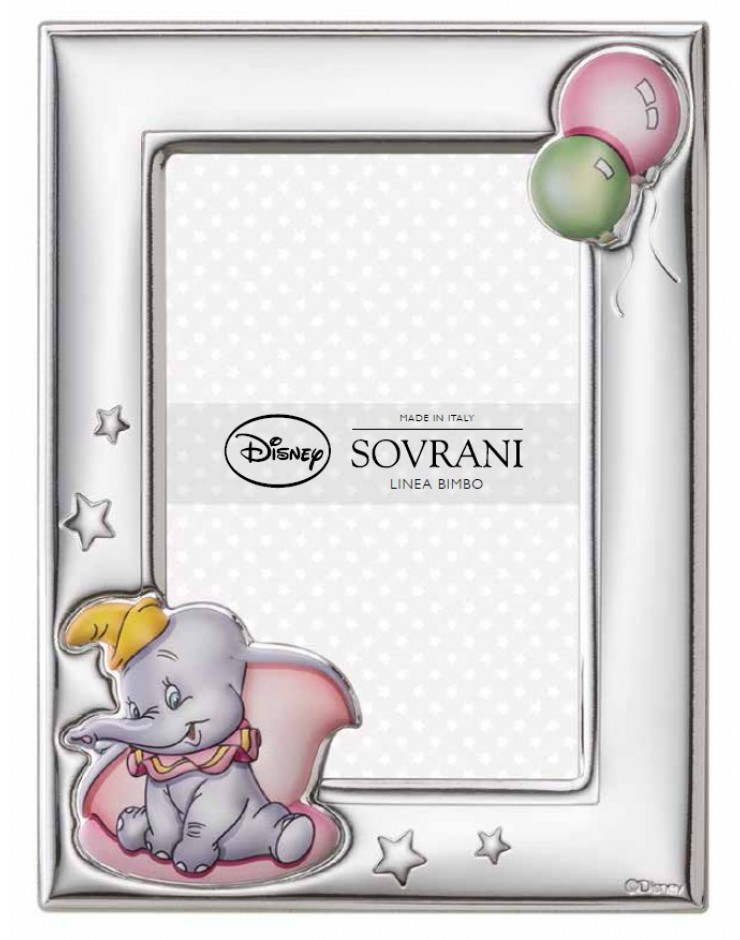 Portafoto Sovrani Disney Dumbo 9x13 Rosa