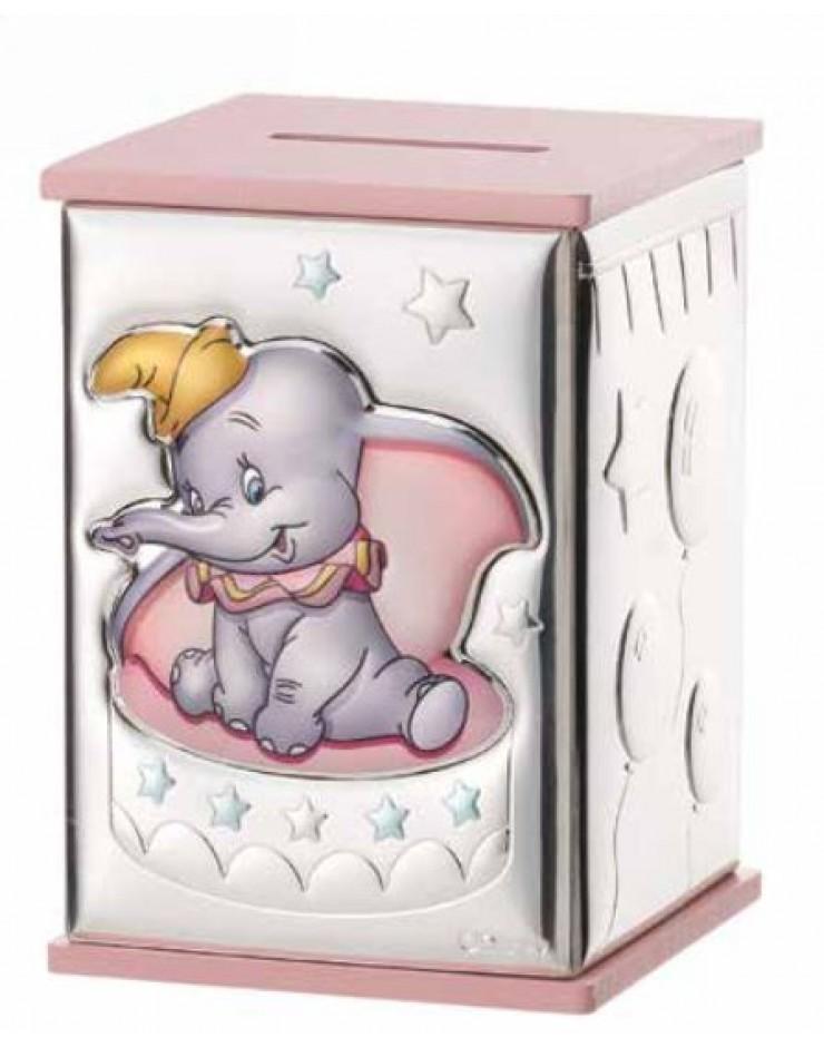 Salvadanaio Sovrani Disney Dumbo Rosa