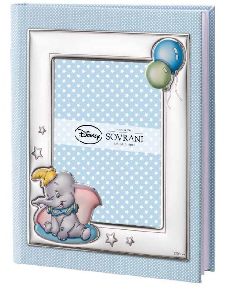 Album Portafoto Sovrani Disney Dumbo 25x30 Celeste