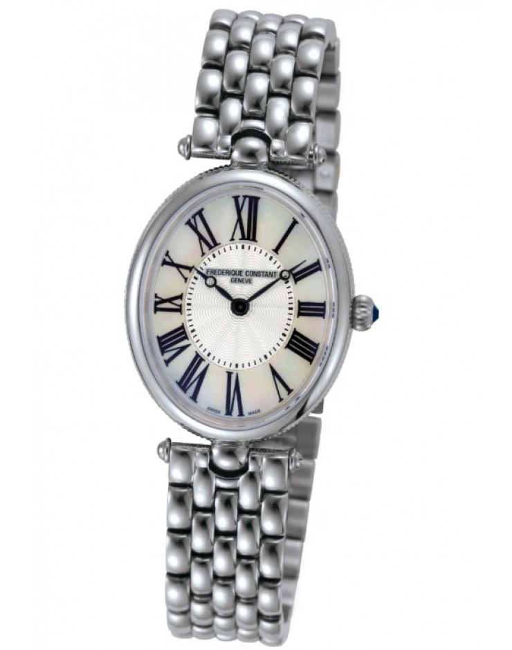 Orologio donna solo tempo quarzo Frederique Constant Montre Art Decò Swiss Made