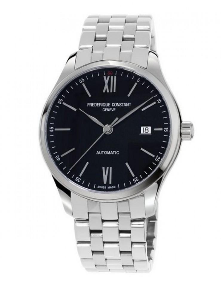 Orologio uomo solo tempo acciaio Frederique Constant Automatico Swiss Made classic index