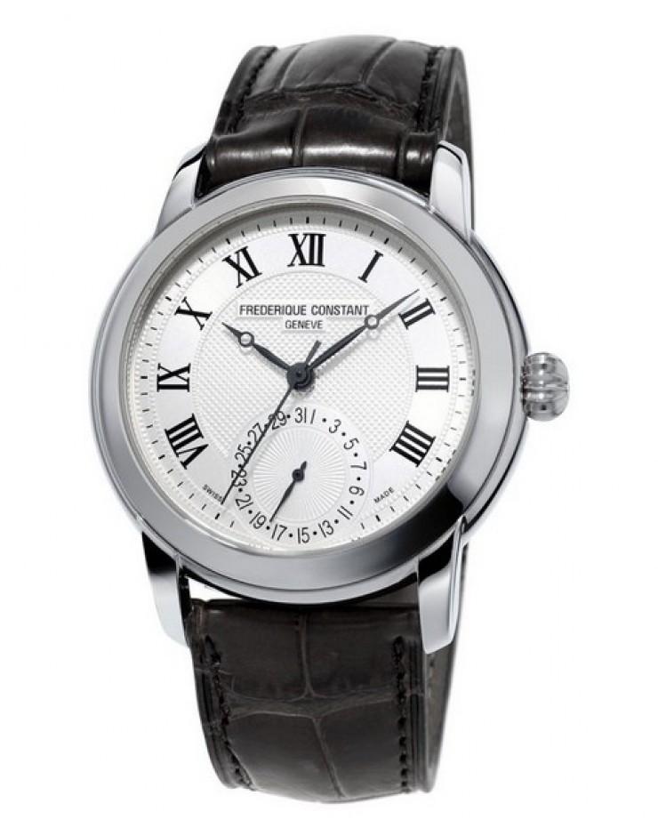 Orologio uomo solo tempo Manifattura Frederique Constant Automatico Swiss Made