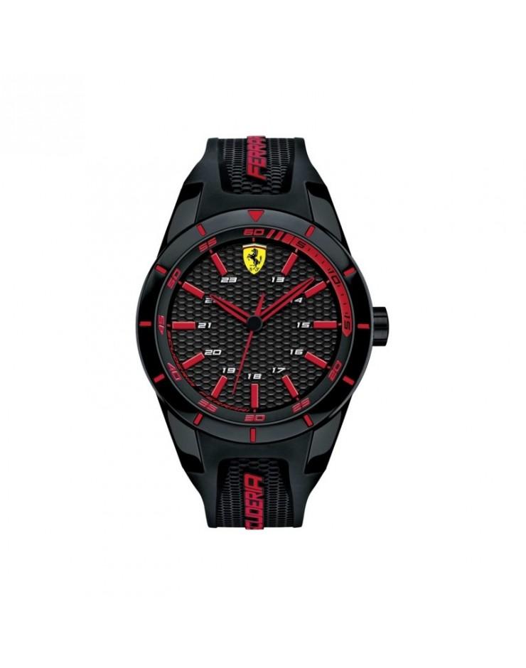 Orologio Solo Tempo uomo Scuderia Ferrari Red Rev Black Ferrari