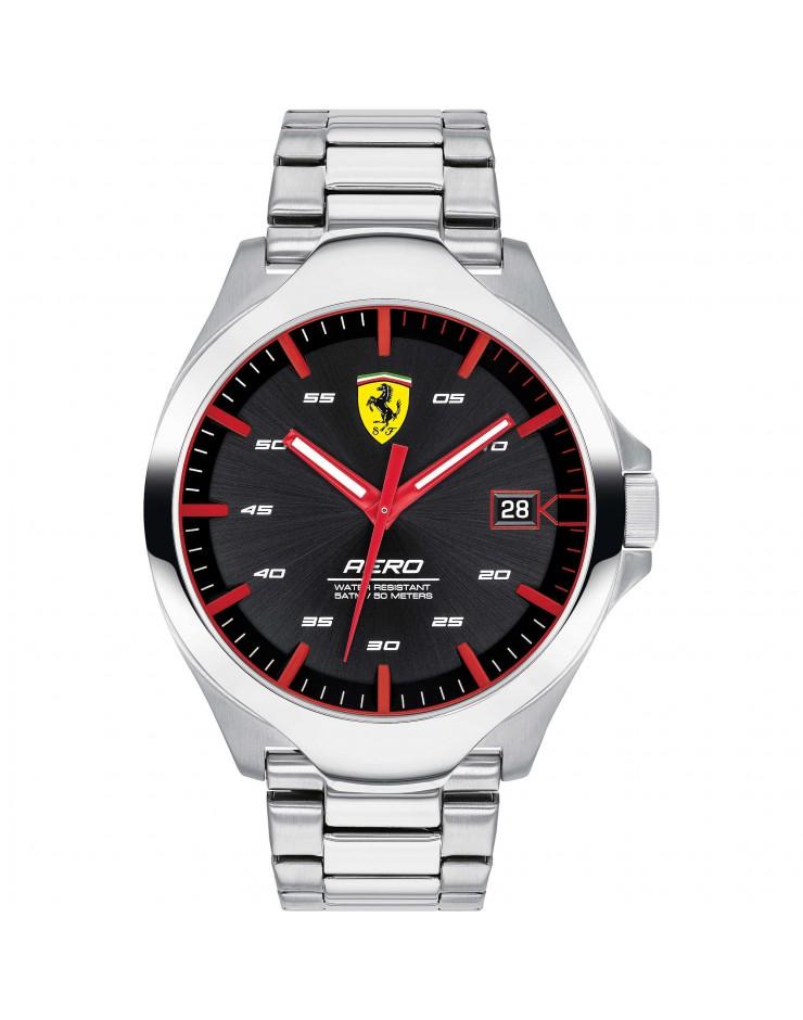 Orologio solo tempo uomo Acciaio Ferrari Aero - Scuderia Ferrari