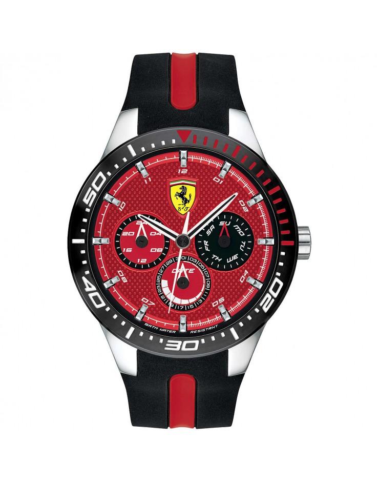 Orologio uomo Multifunzione Scuderia Ferrari RedRed - Ferrari