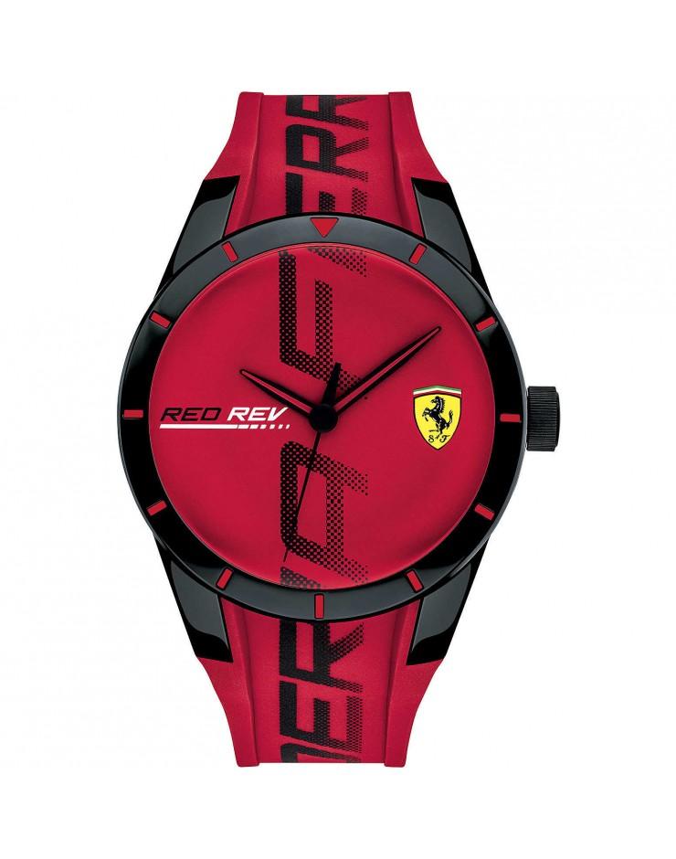 Orologio Solo Tempo uomo Scuderia Ferrari  RedRev Red Ferrari