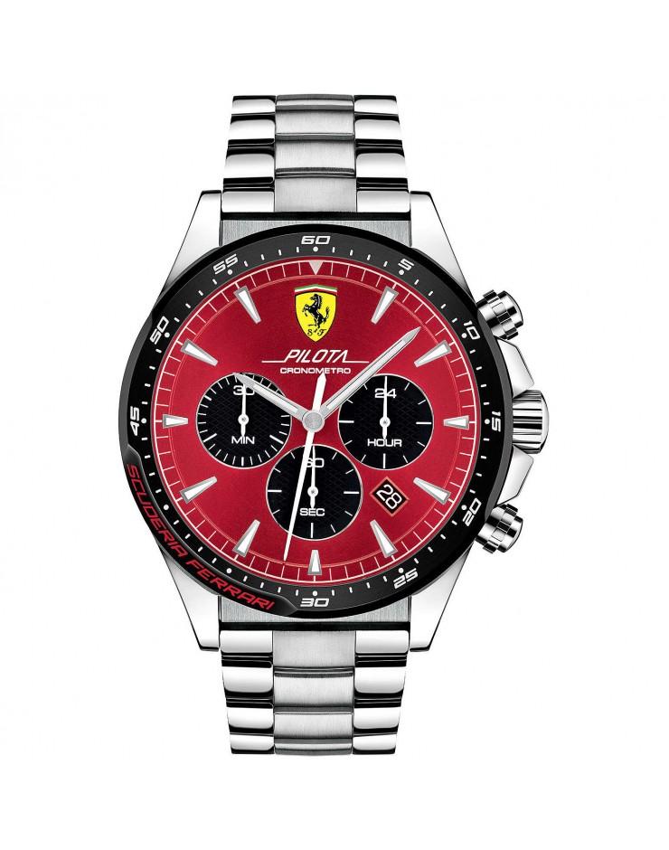 Orologio Crono uomo Pilota Scuderia Ferrari - Ferrari