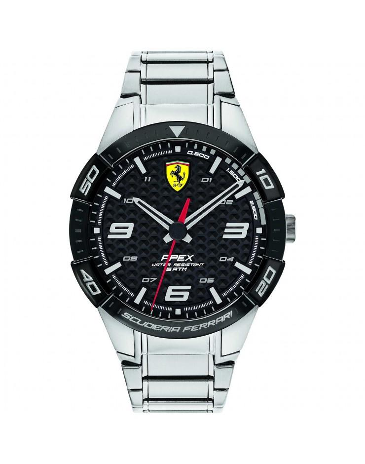 Orologio Solo Tempo uomo acciaio mm. 45 Apex Scuderia Ferrari - Ferrari