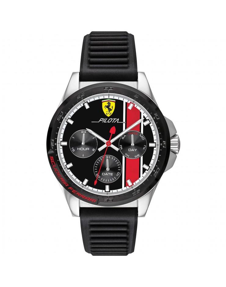 Orologio multifunzione uomo Ferrari Pilota - Scuderia Ferrari