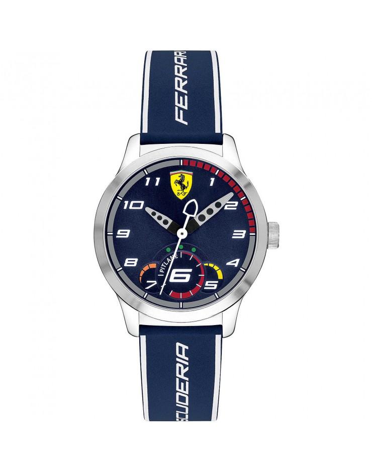Orologio Solo Tempo uomo/bambino mm. 34 Pitlane Blu Scuderia Ferrari - Ferrari