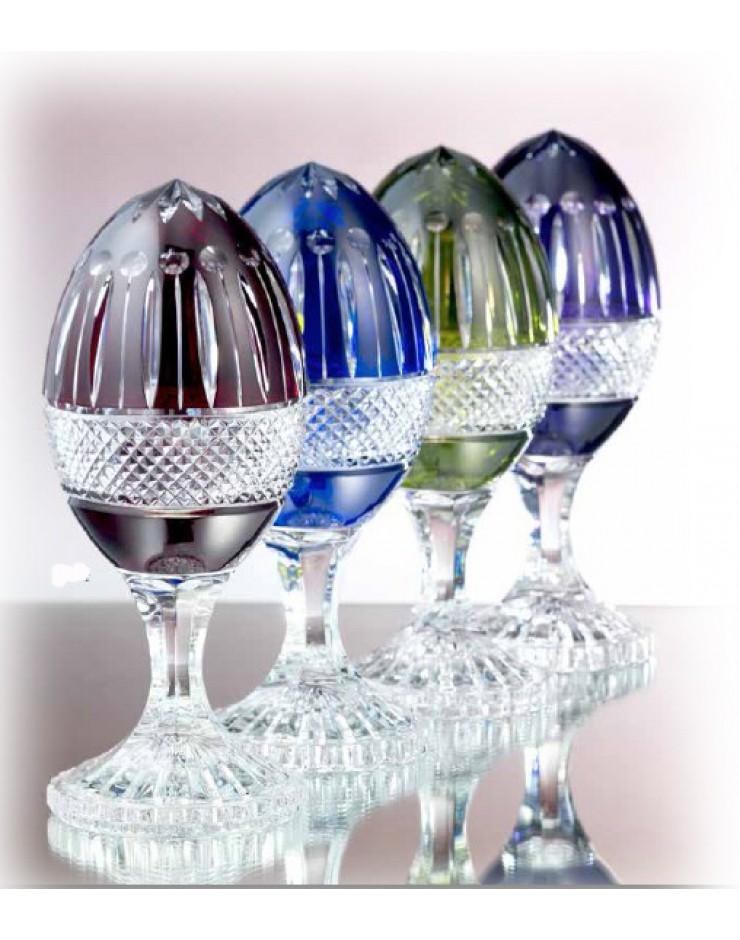 Uovo Cristallo verde - Maison Tatiana Fabergè