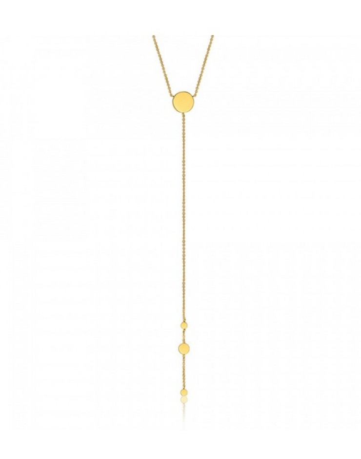 Collana donna argento gold Ania Haie Geometry Class