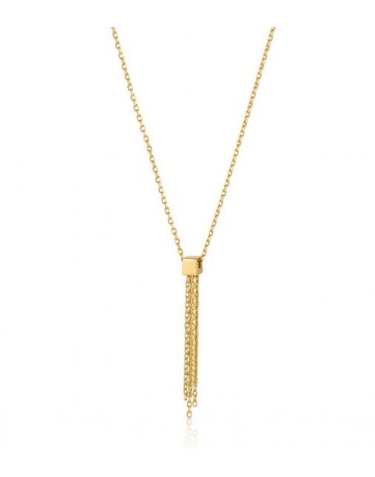 Collana donna argento gold Ania Haie Tassel Drop
