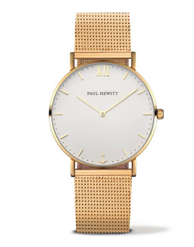 Orologio unisex solo tempo Paul Hewitt Sailor Line Gold Metal S