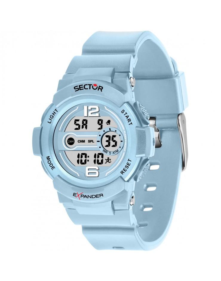 Orologio donna multifunzione digitale Sector EX-16 Blue