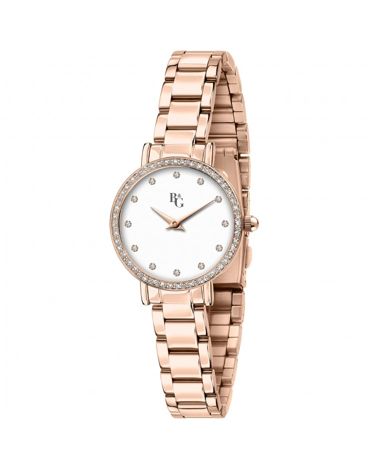 Orologio donna solo tempo acciaio  Preppy Rose Gold - B&G Chronostar by Sector
