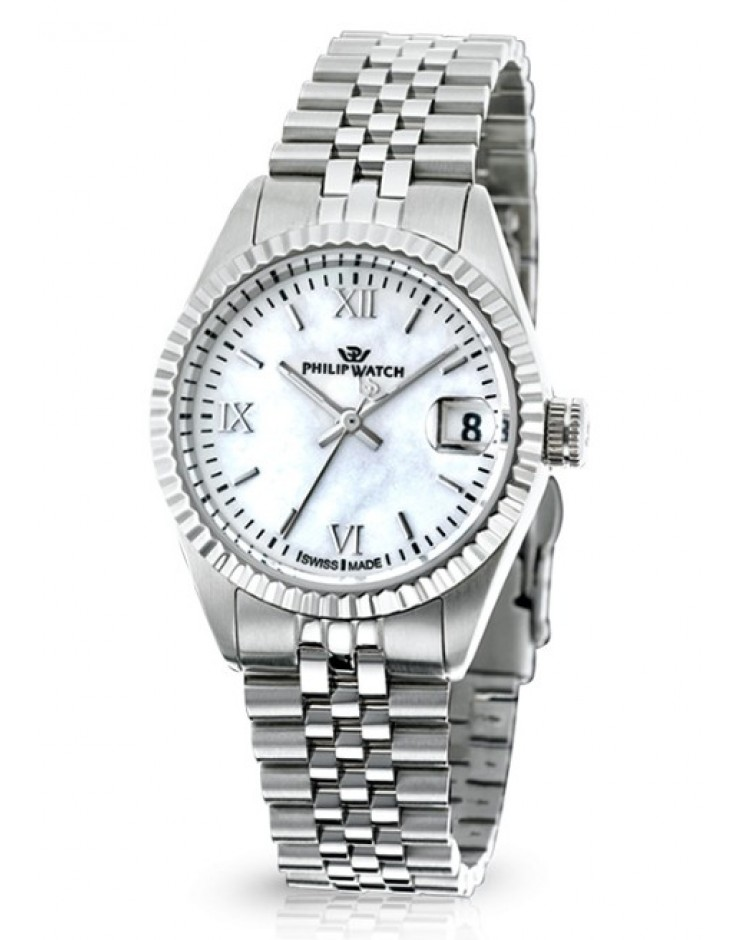 Orologio donna Solo tempo Philip Watch Caribbean Prestige Lady Madreperla quarzo