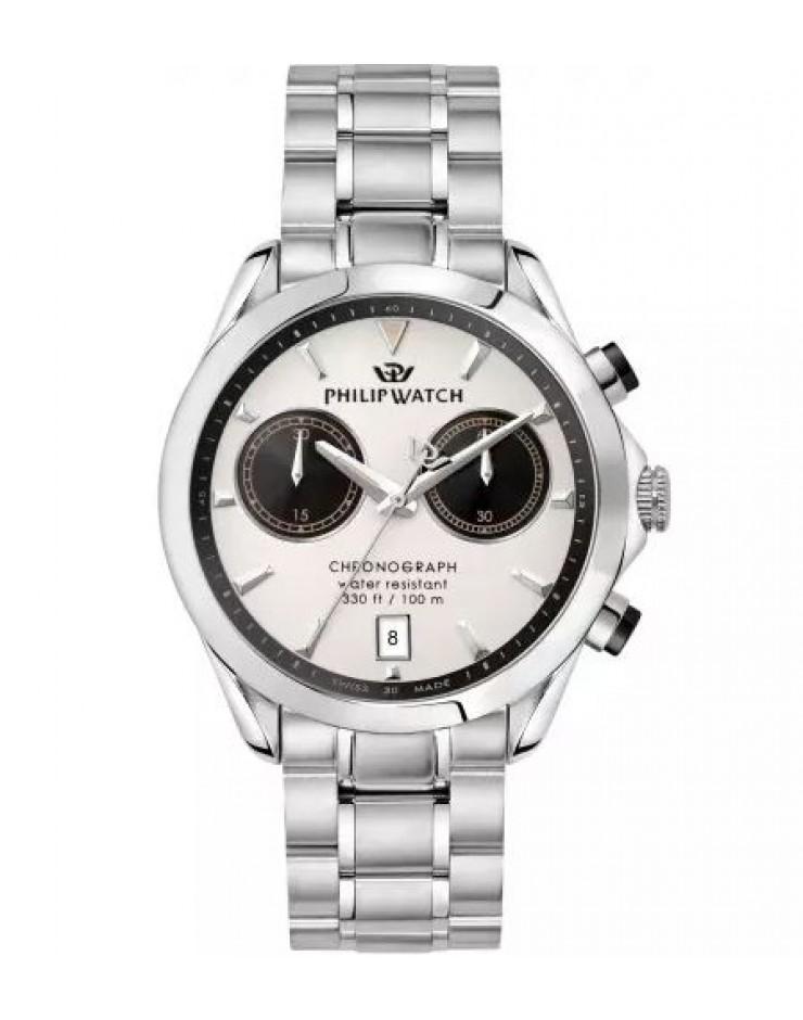 Orologio crono uomo acciaio Philip Watch Blaze Swiss Made