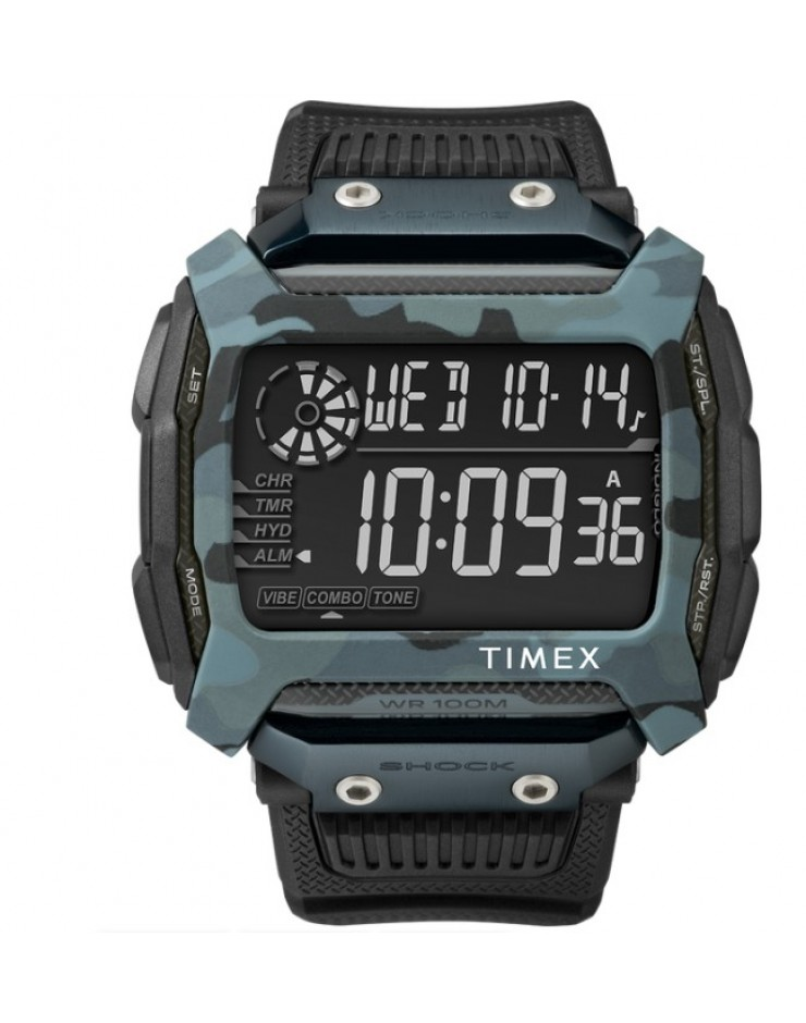 Orologio uomo digitale Timex Command Shock 54mm Camouflage