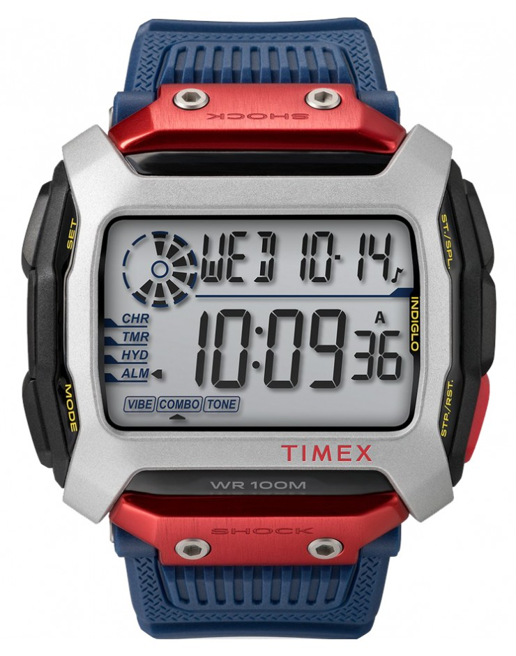Orologio uomo digitale Timex Command X Red Bull® Cliff Diving 54mm Special Edition