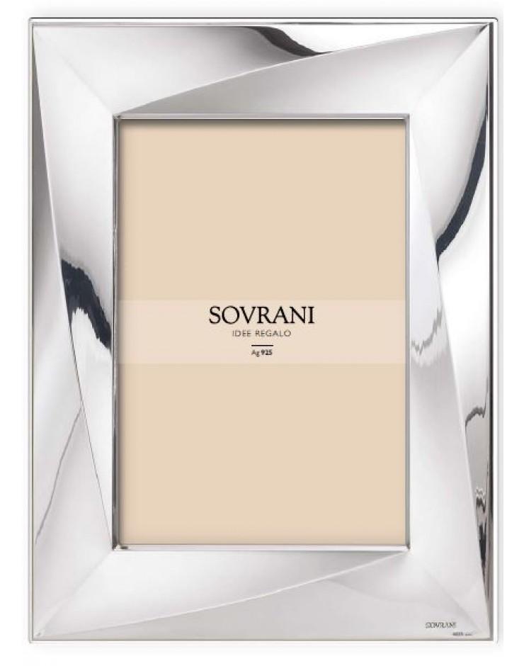 Portafoto Sovrani 20x25 Argento legno