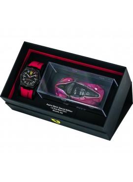 Orologio Solo Tempo uomo Ferrari Special Edition Aspire Black con Modellino Ferrari FXX K Scala 1:43 - Scuderia Ferrari